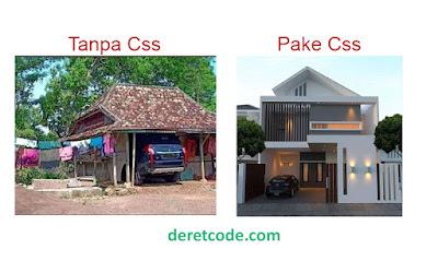 Ilustrasi Web Tanpa Css