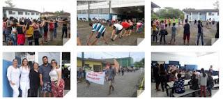 """Programa Escola da Família da Escola Yolanda e Estratégia Saúde da Família realizam Caminhada pelo Projeto """"Juntos na Prevenção"""""""