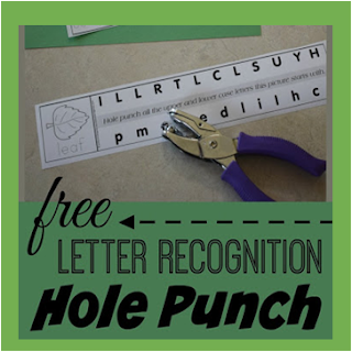 Alphabet Hole Punching