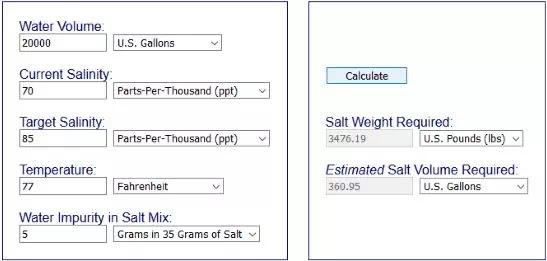 Cara Menghitung Tingkat Kadar Garam Dalam Kolam-5