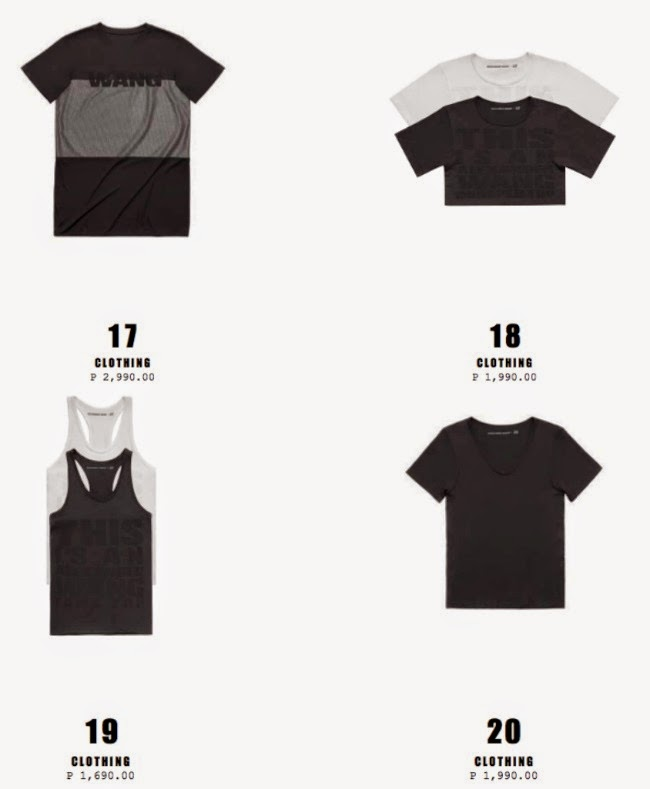 02ba0bac alexander wang x h&m: the entire collection + price list