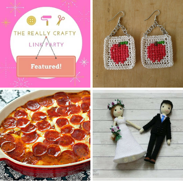 The Really Crafty Link Party #131 featured posts