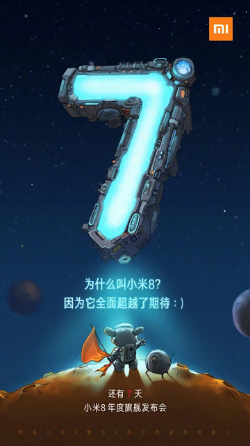Bukan Mi 7! Xiaomi Menjawab Xiaomi Mi 8 Flagship Mendatang