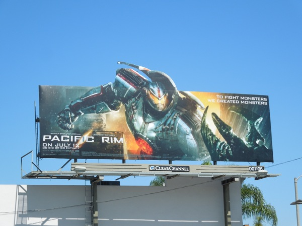 Pacific Rim Gipsy Danger Jaeger billboard