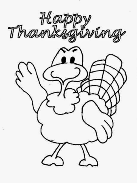 Thanksgiving Printable Coloring Pages