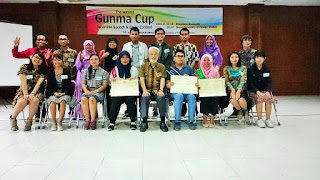 UNNES Bersaing di 20 Besar The Second GUNMA CUP Essay and Speech Japanese Contest in Indonesia