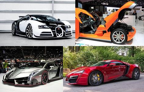 Dünyanın En Pahalı 4 Otomobili