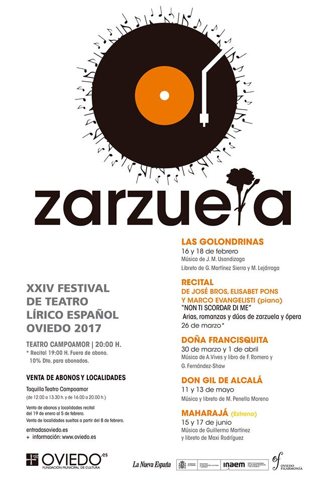 Festival de Zarzuela Oviedo 2017
