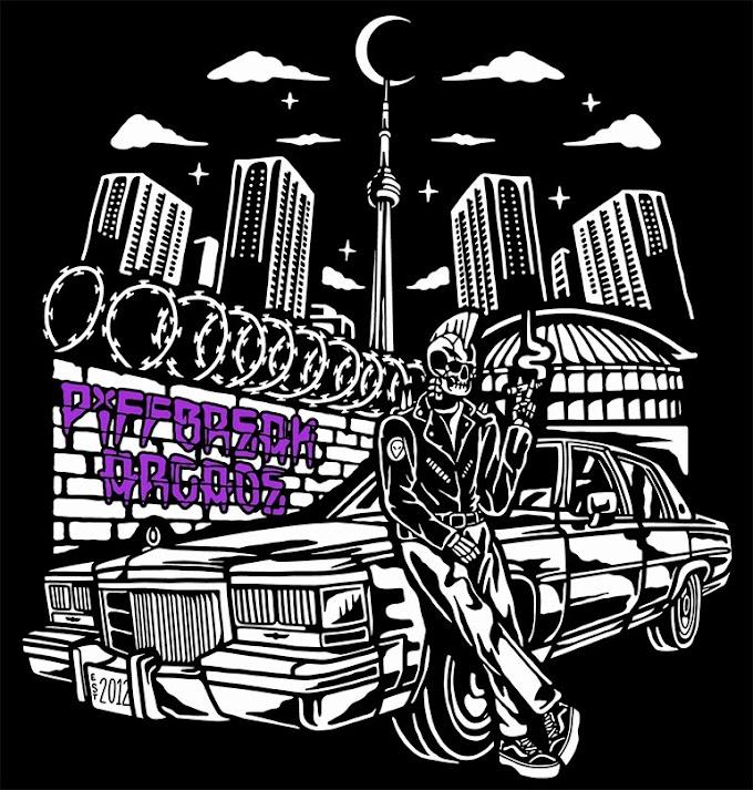 "Piffbreak Arcade cover blink-182's ""M+M's"""