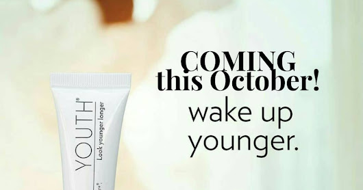 YOUTH RESTORING EYE TREATMENT IS COMING SOON !!!
