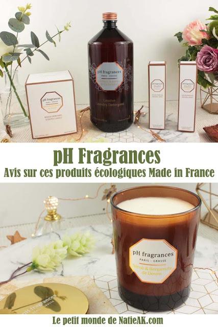 pH Fragrance produits naturels