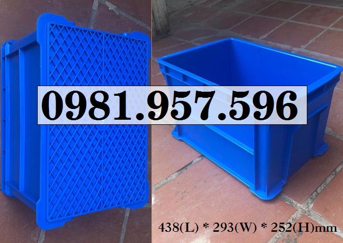 Hộp nhựa đựng dụng cụ, hộp nhựa đựng linh kiện, hộp nhựa B6