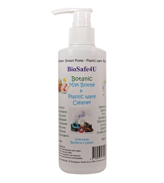 BioSafe4U - Botanic Milk Bottle & Plastic Ware Cleaner