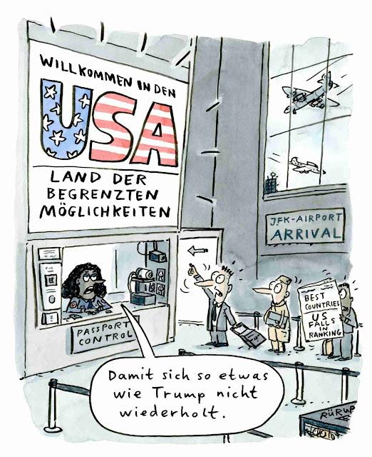 Trump, USA, Biden, Image, Willkommen, Einreise, Airport, Republikaner, Wahl, Fake, Demokraten