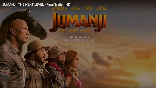 Jumanji: The Next Level final fragmanı