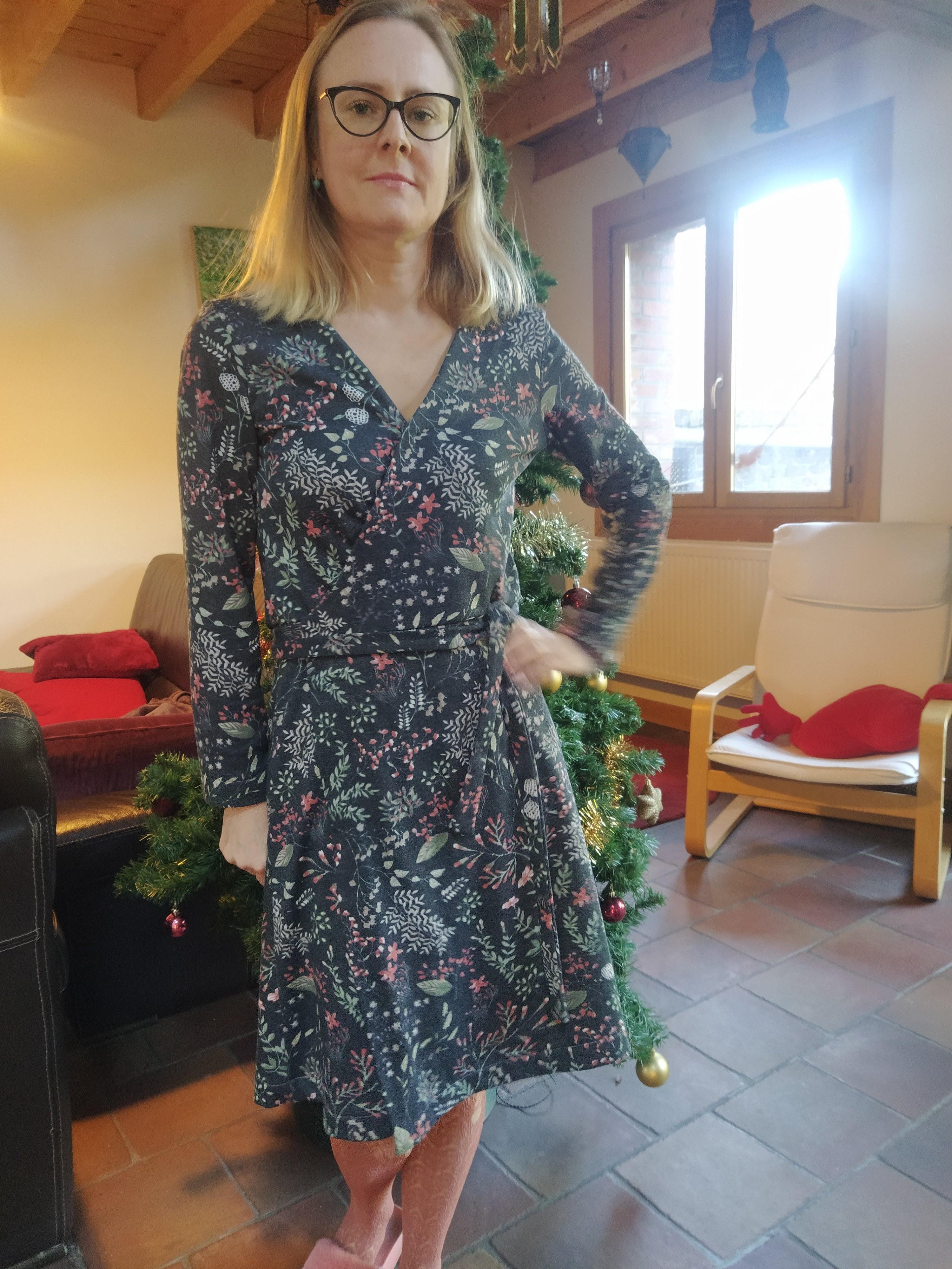 Tuto robe Azilys avec Mondial Tissus