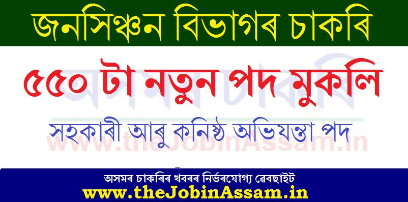 Irrigation Department, Assam Recruitment 2020