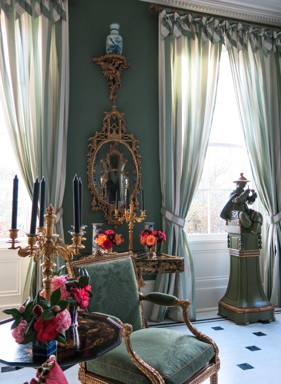Chinoiserie Chic Carolyne Roehm S Charleston Chinoiserie Room