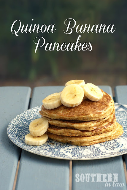 Healthy Quinoa Banana Pancakes Recipe