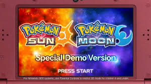 Free Android PC apps games and Videos: Pokemon Sun and Moon | Demo