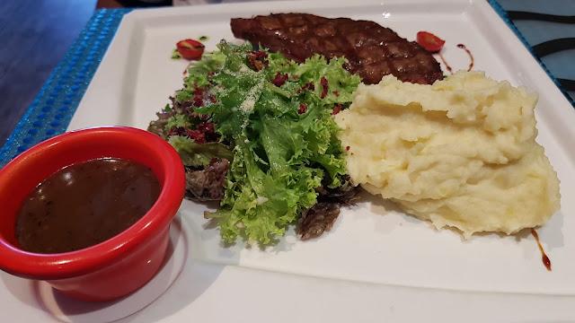 Steak Sirlon, wangsa grill wangsa maju, western food