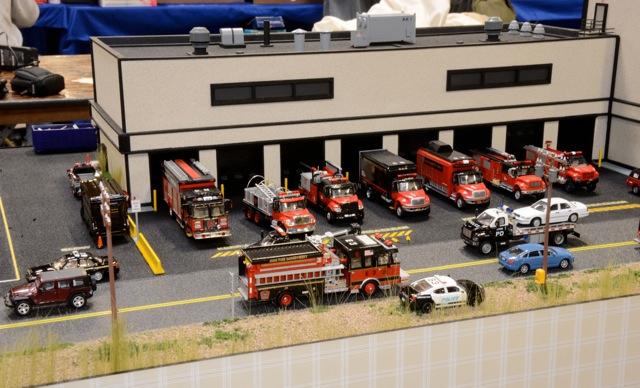 world 1 87 dioramas de pompiers sur 1 87 vehicle club. Black Bedroom Furniture Sets. Home Design Ideas