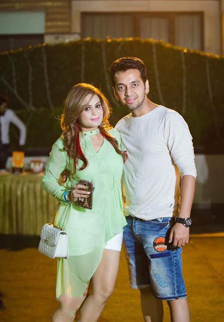 Priya with sachin-