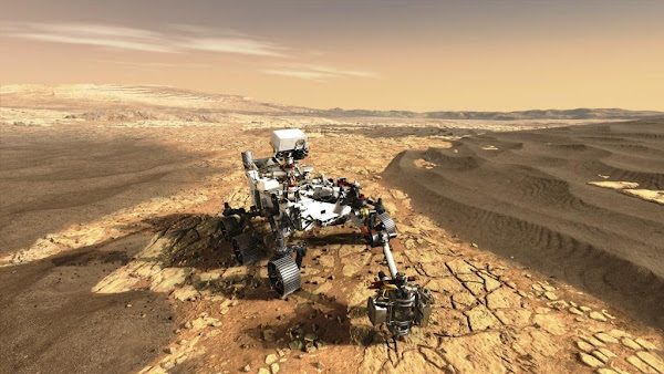 Amanhã chega a Marte tecnologia espacial Airbus