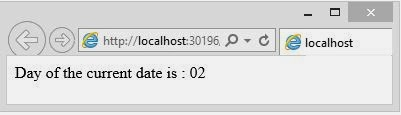 day of the current datetime in asp.net