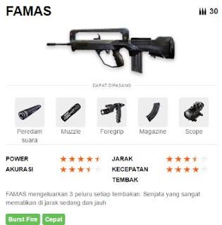 Gambar Senjata Famas Free Fire