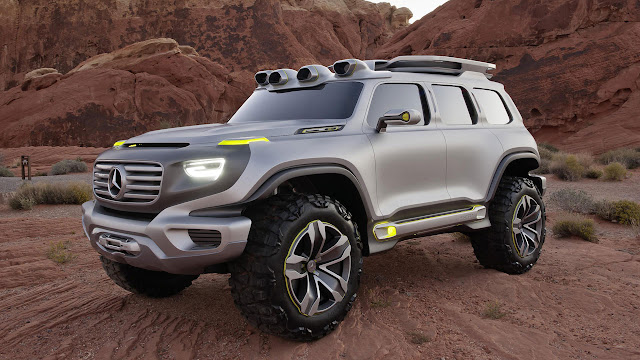 Mercedes-Benz Ener-G-Force side front