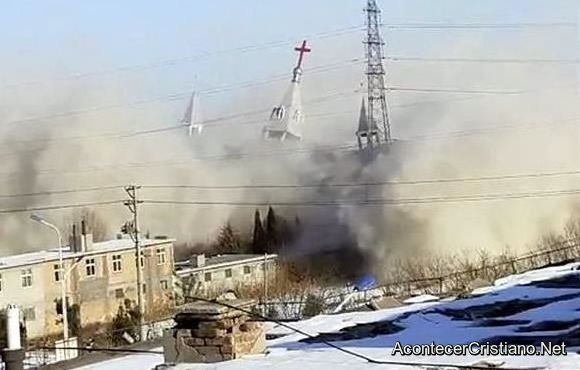 Demolición de iglesia en China