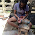 Touching story! Meet this graduate who turns to shoemaker... photos