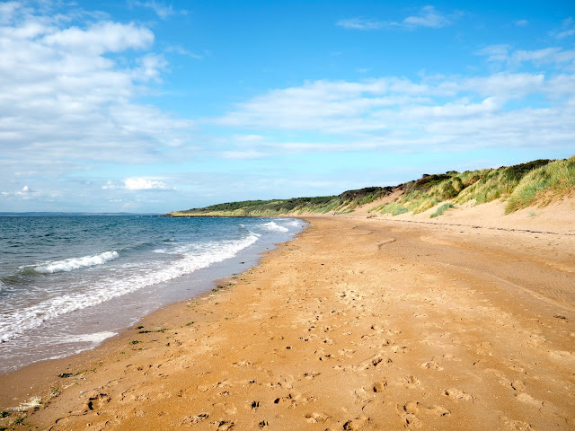 Gullane beach, East Lothian, Scotland