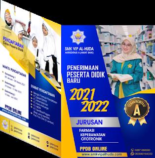 CONTOH MODEL BROSUR PPDB SMK TAHUN 2021 B