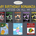 My Birthday Bonanza: Special Offers On ALL My Books!