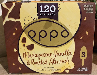 Oppo Vanilla & almonds ice cream stick