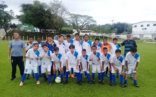 Campeão da fase regional, futebol Sub 13 da Ilha disputa sábado 03/11 a fase Litoral Sul do Campeonato Estadual