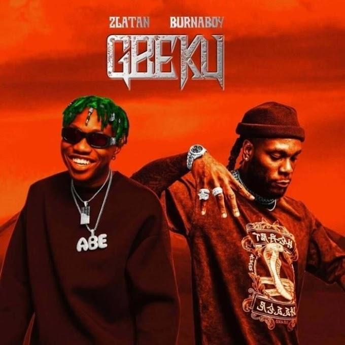Download Music Mp3:- Zlatan Ft. Burna Boy – Gbeku