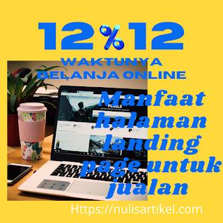 Manfaat halaman landing page untuk jualan online