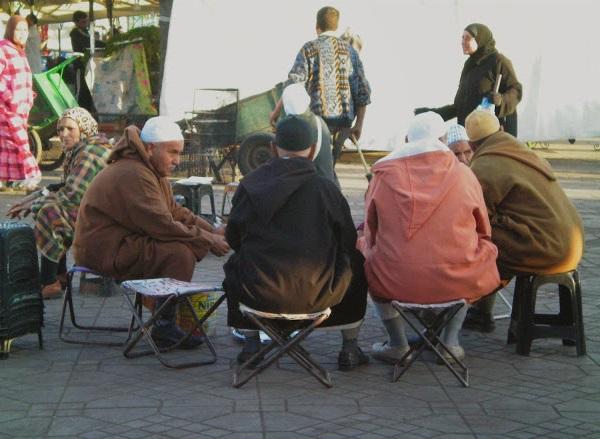 Plaza de Jamma el Fna Marrakech