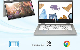 HP Chromebook X360 14-Inch HD Touchscreen Laptop