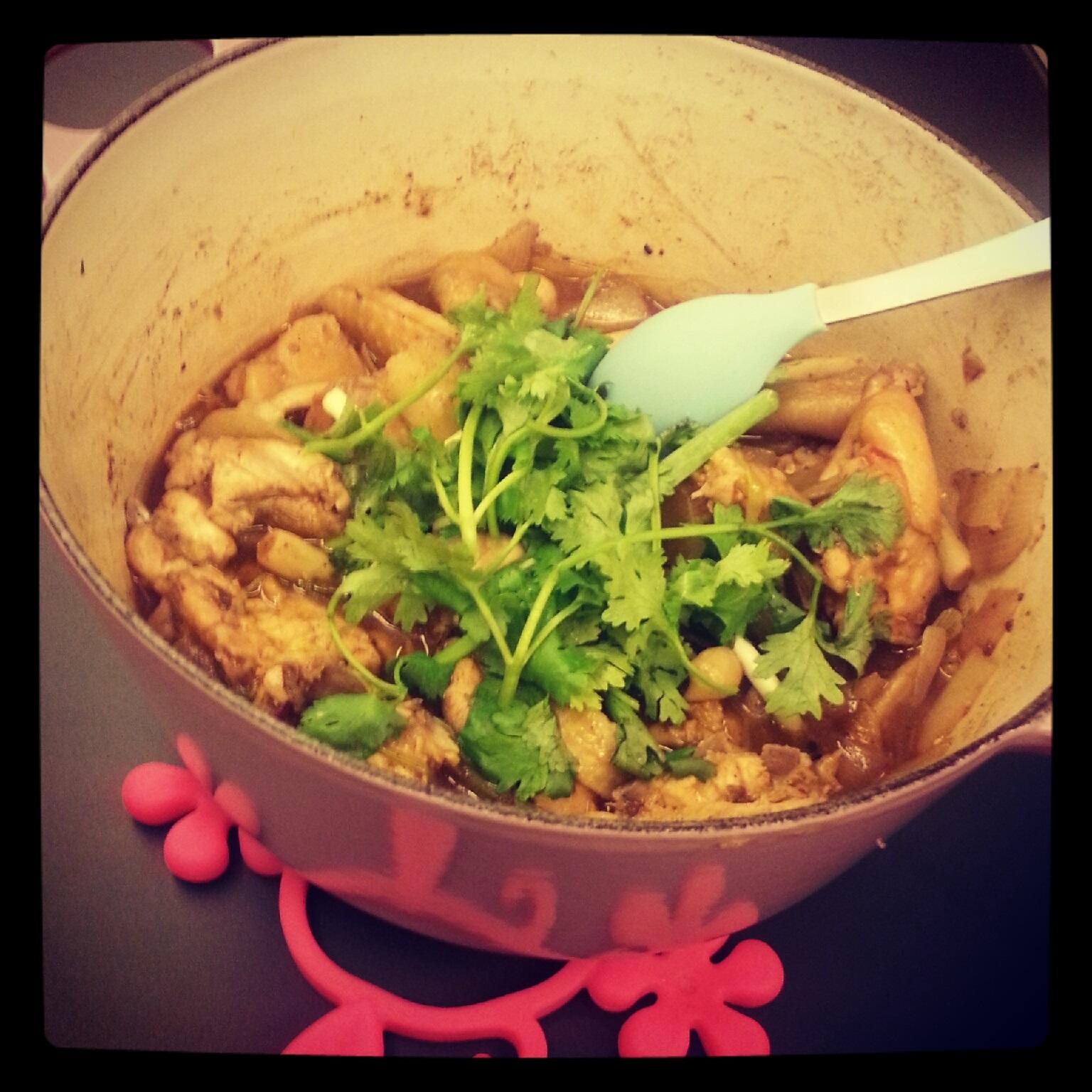 小杯的實驗廚房: 麻辣雞煲