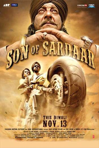 Son Of Sardaar 2012 Hindi Movie 480p BluRay 390mb watch Online Download Full Movie 9xmovies word4ufree moviescounter bolly4u 300mb movie
