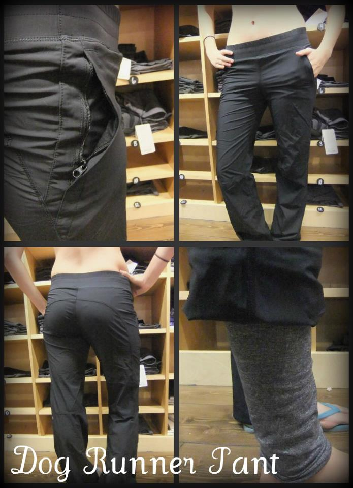 1fc2a60197 Lots of buzz about the new Black Herringbone Wunder Unders. What do you  think, are they on your want list? New Dog Runner pant ...