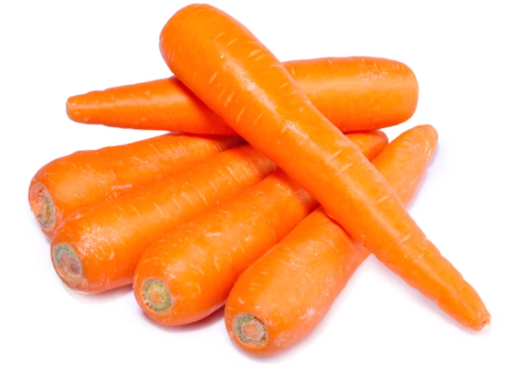 Cut off the green part of the carrots before placing them in a tightly sealed plastic bag and in the fridge. Don't wash.