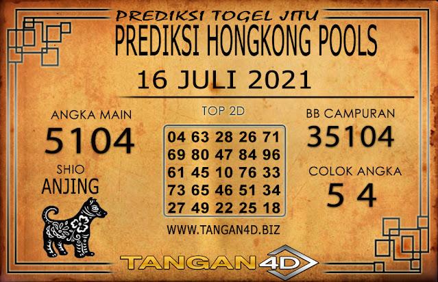 PREDIKSI TOGEL HONGKONG TANGAN4D 16 JULI 2021
