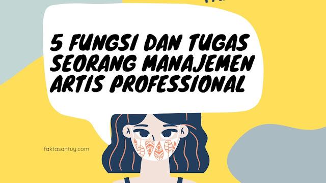 manajemen artis