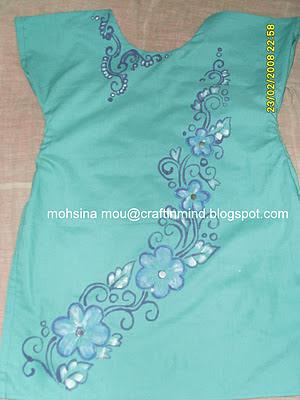 Craft in mind: fabric design kurti