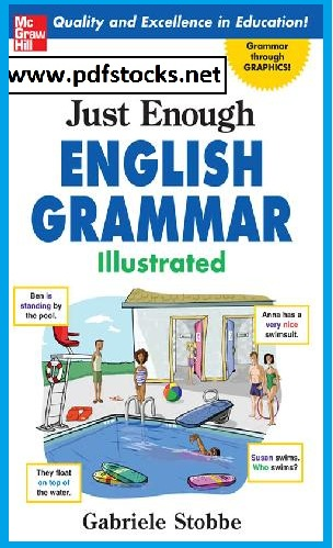 Just Enough English Grammar Illustrated  cover page